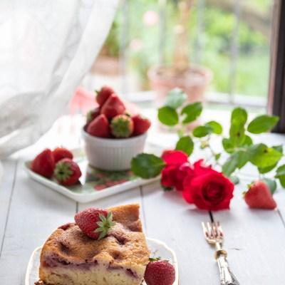 Torta morbida con fragole e kefir                                        5/5(1)