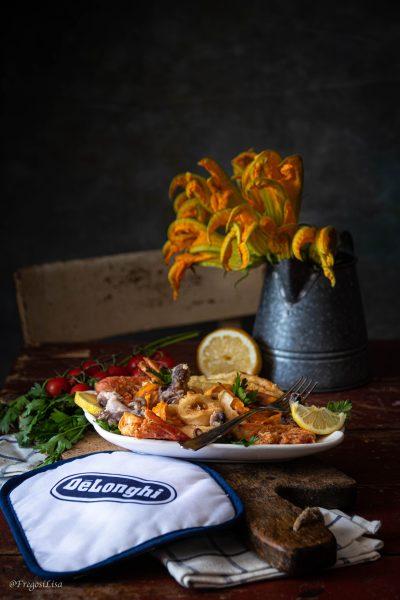 come fare la frittura di pesce croccante nel wok di ghisa