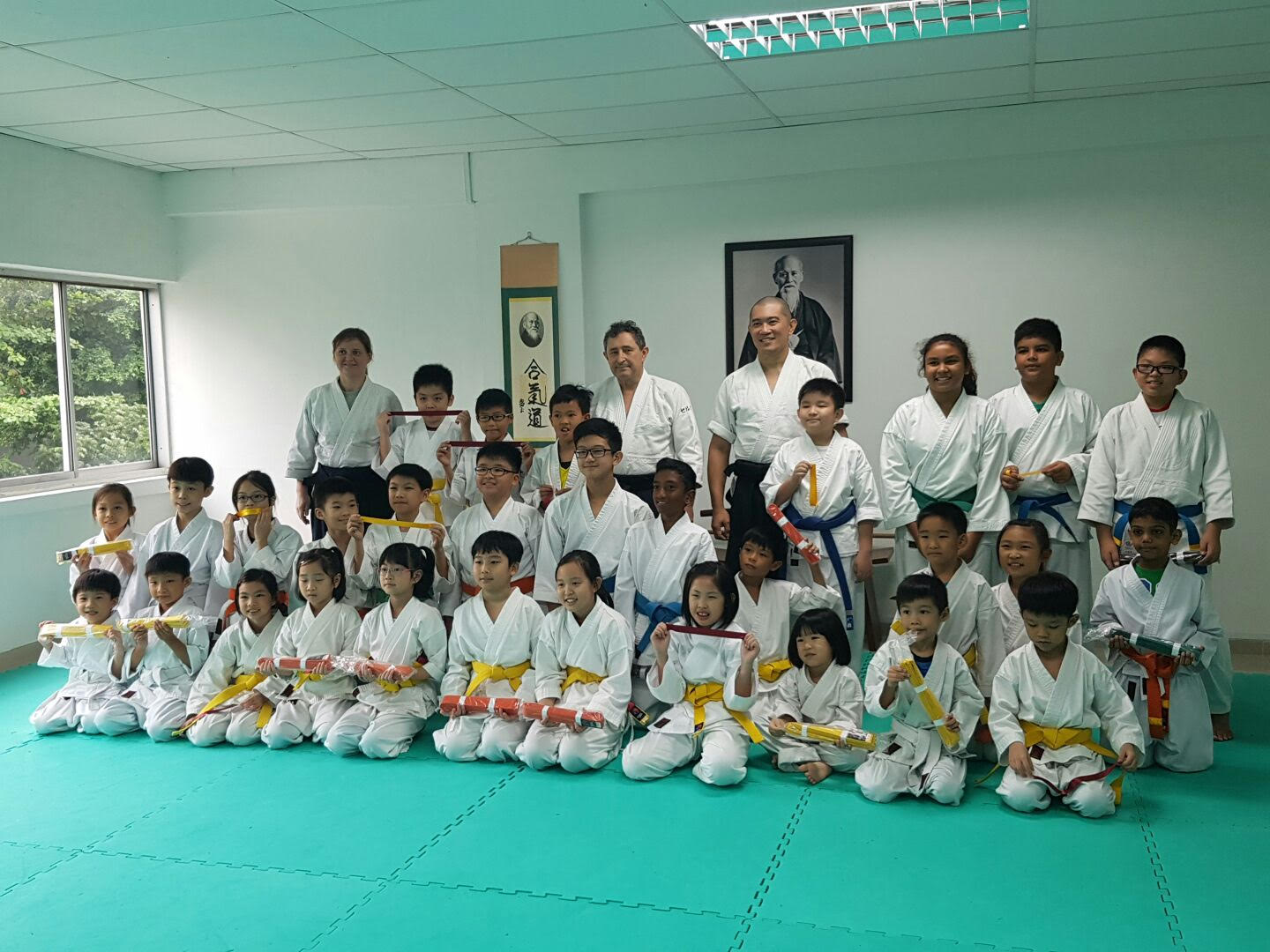Kids and Mudansha Grading October 2016