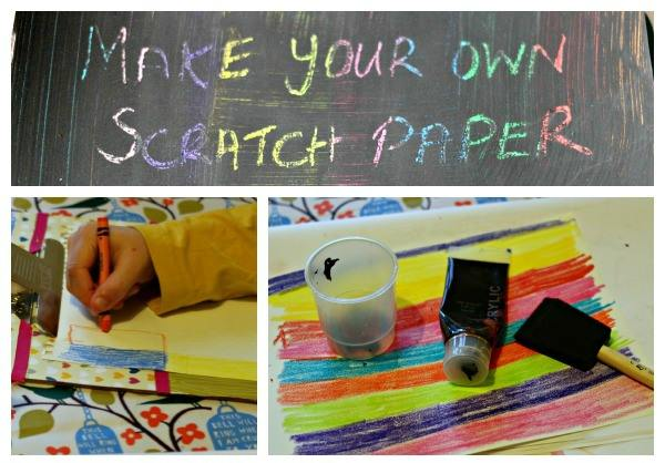 Scratch Paper Fireworks And Make Your Own Scratch Paper
