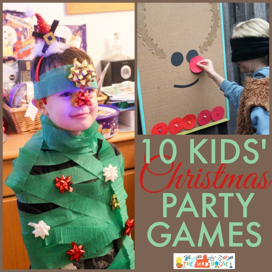 kids christmas party games