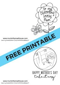 Free Printable Mother's Day Cards to Colour - Mum In The ...