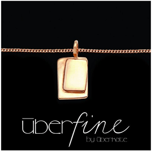 Mother's Day Gift Guide: Uberfine by Uberkate, Inner Door rose gold plated. RRP $185