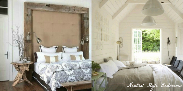 neutral style bedroom