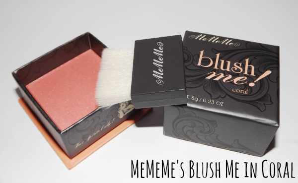 MeMeMe Blush me in coral review