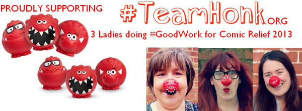#goodwork #teamhonk comic relief 2013 ghana