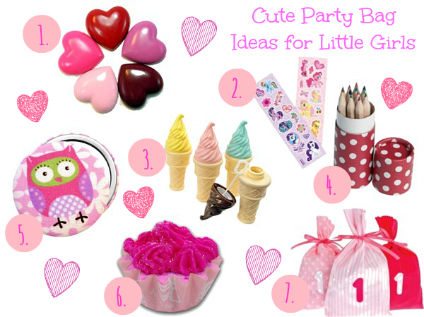 Cute Party Bag Ideas for little girls
