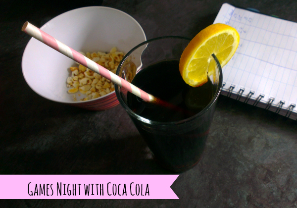games night with coca cola