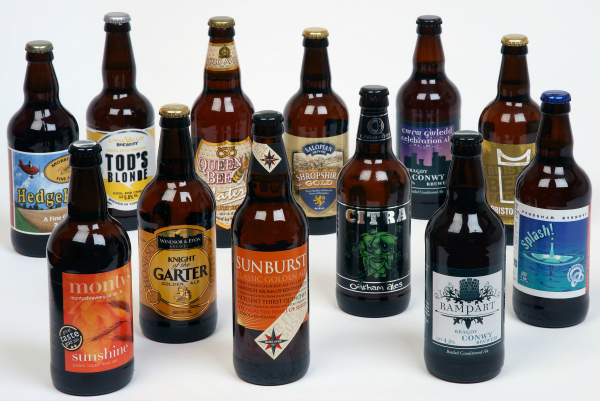 personalised crate of beer, personalised beer, personalised ale, ale and beer gifts, beer sets