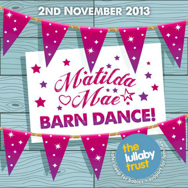 blogger bunting for matilda mae's barn dance