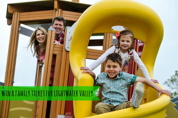 family ticket lightwater valley theme park north yorkshire