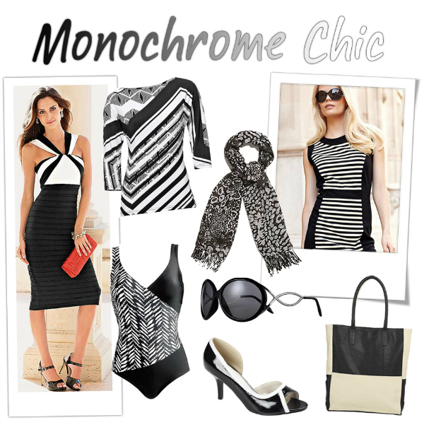 kaleidoscope monochrome fashion
