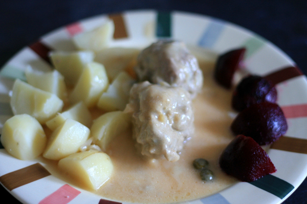 Königsberger Klopse – German meat balls