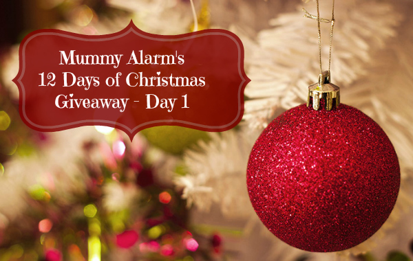 Mummy Alarm's 12 Days of Christmas Day 1