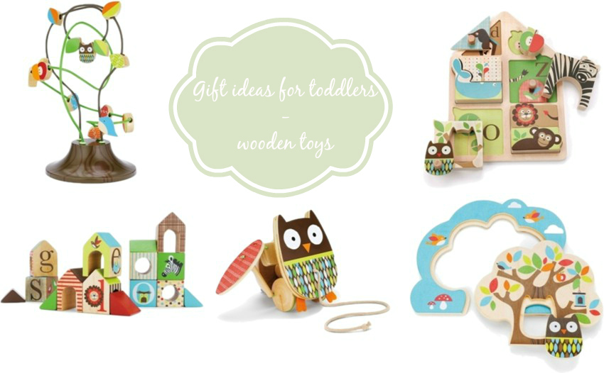 gift ideas for toddlers wooden toys