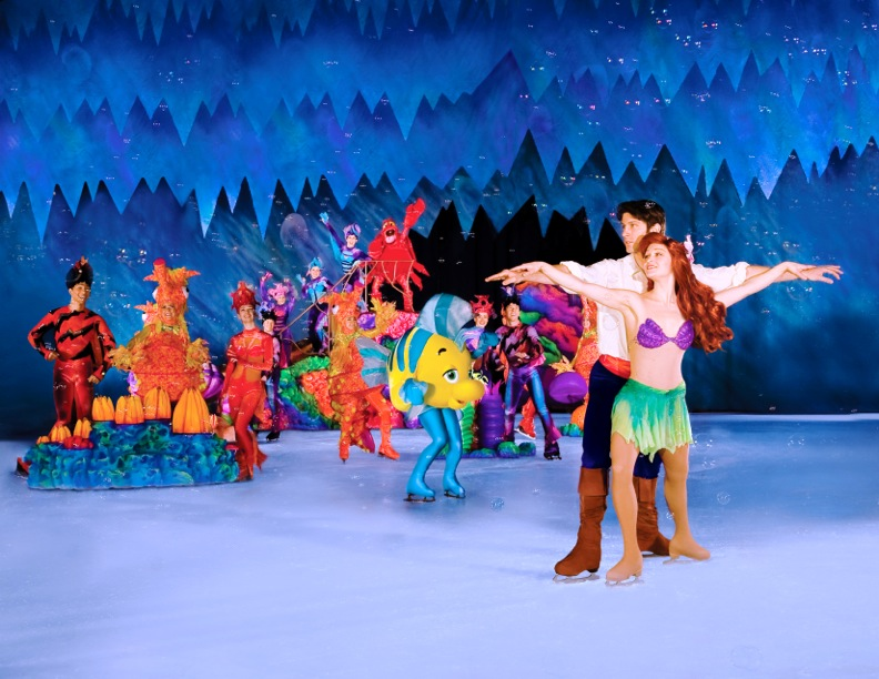 Disney on Ice Worlds of Fantasy Motorpoint Arena Cardiff 2014