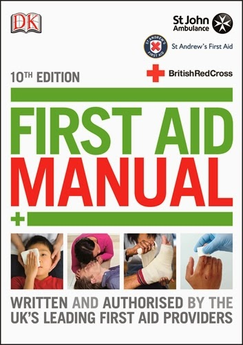 First Aid Manual 10th edition book jacket