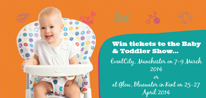 baby and toddler show manchester or bluewater