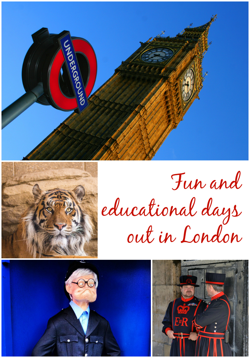 fun and educational days out in London
