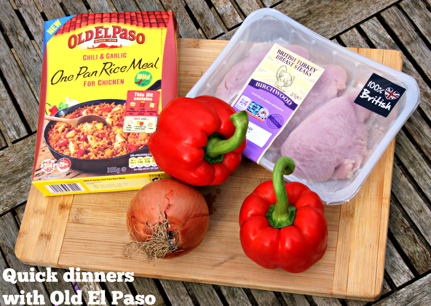 One Pan Rice Meal from Old El Paso