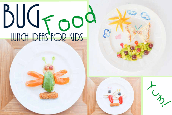 Bug themed lunch ideas for kids monday parenting pin it party