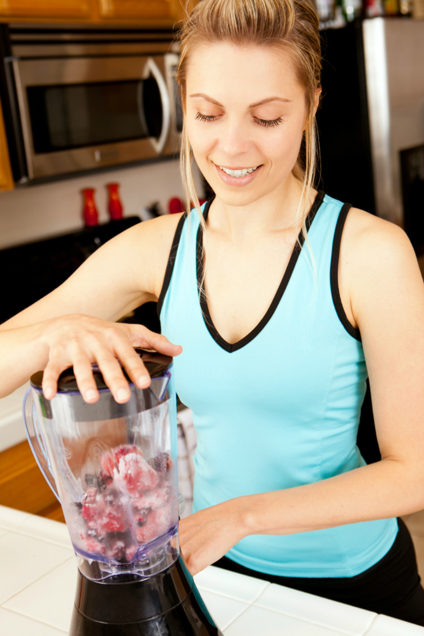 making fresh smoothies or juice can help you maintain a healthier lifestyle