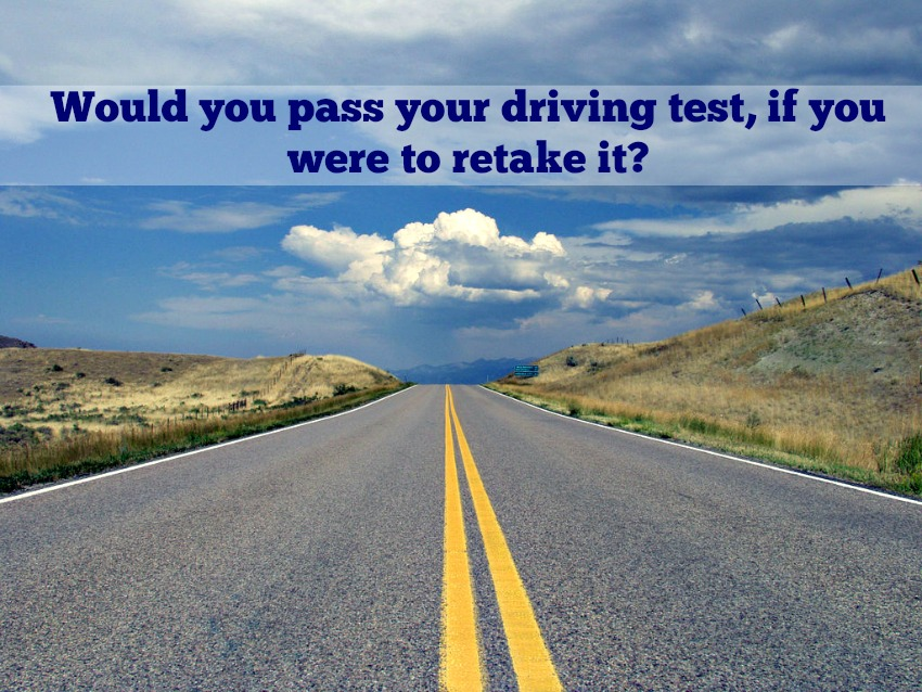 retake your driving test