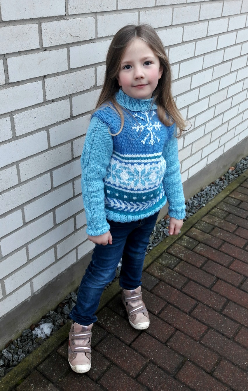 Little loves favourites knitted jumper