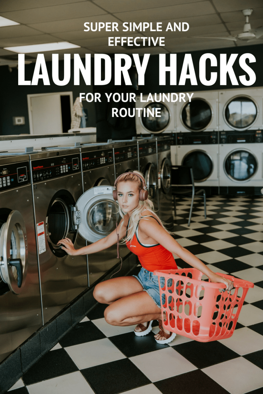Laundry hacks for busy women - how to make your laundry routine quicker, easier and more effective. Tips and tricks for stain removal, drying and washing.