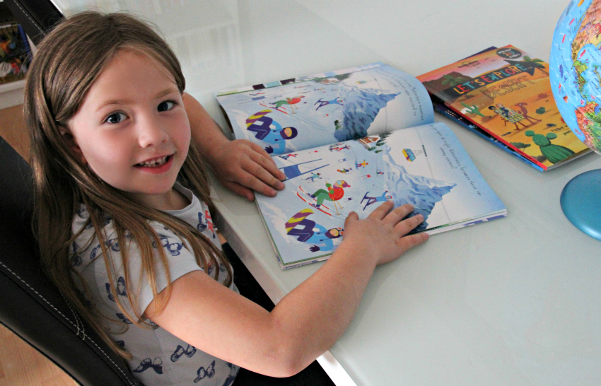 let's explore sticker books by lonely planet kids