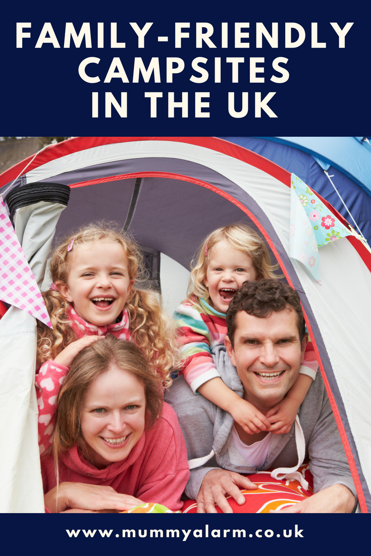 best family-friendly campsites in the UK, campsites for families UK