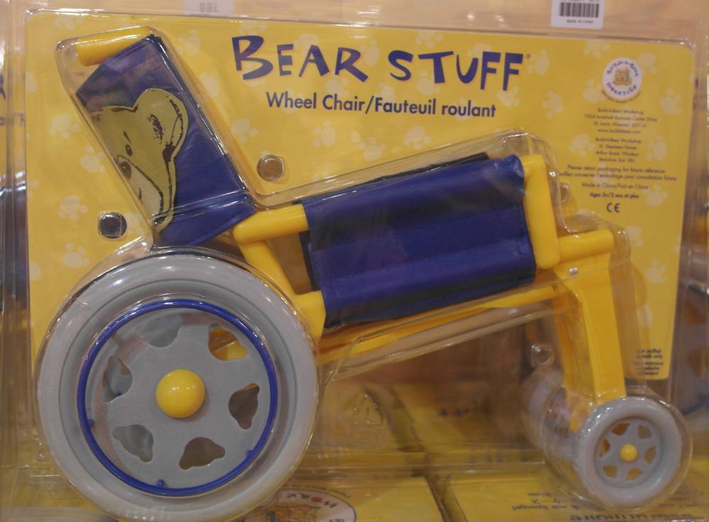 BearWorkshopWheelchair