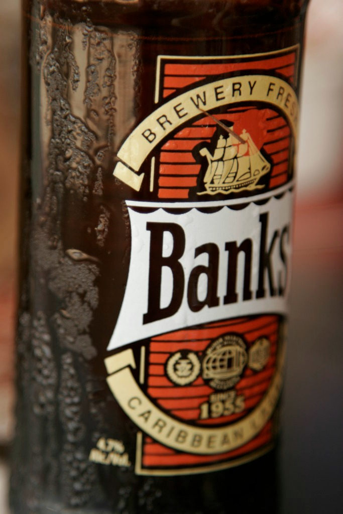 Banks - the beer of Barbados