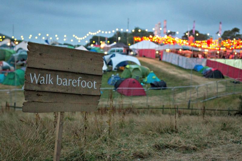 Walk Barefoot at Camp Bestival