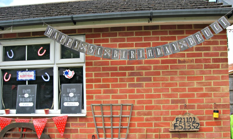 Hello Party Bunting