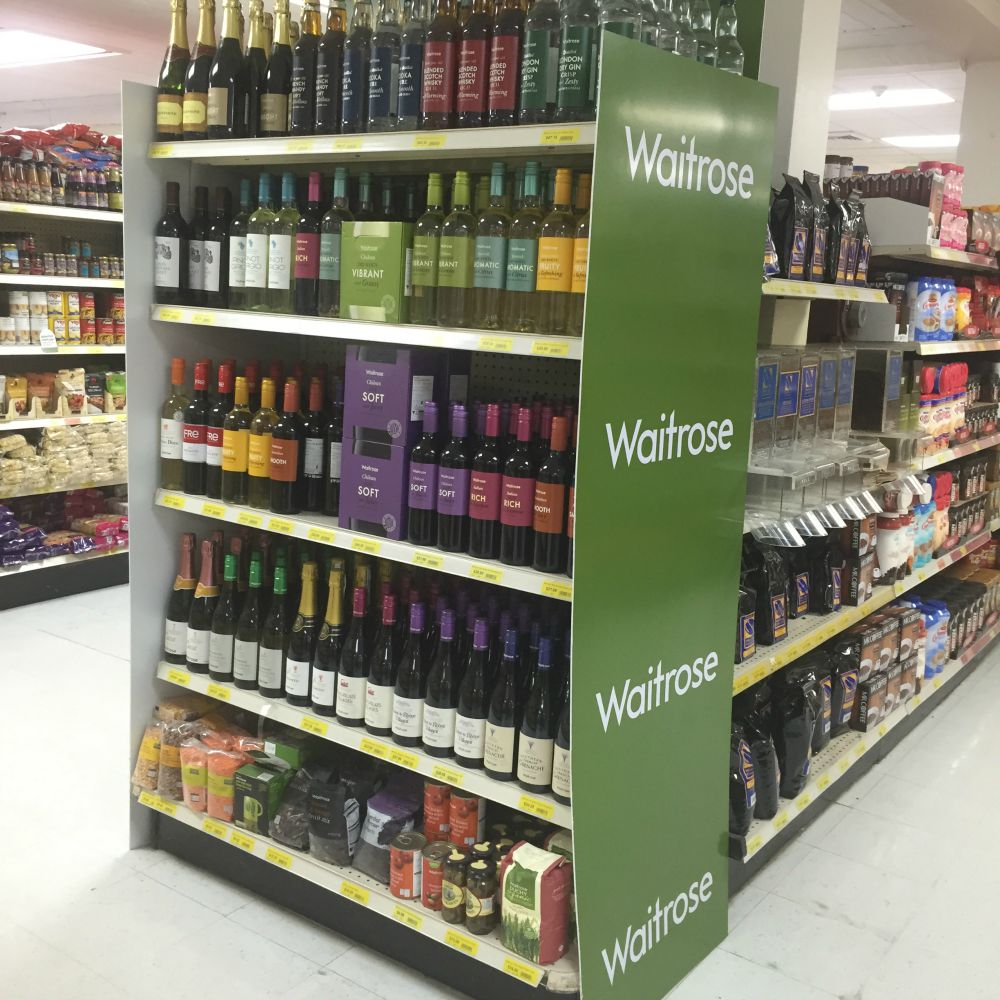 Why can you get Waitrose stuff in Barbados
