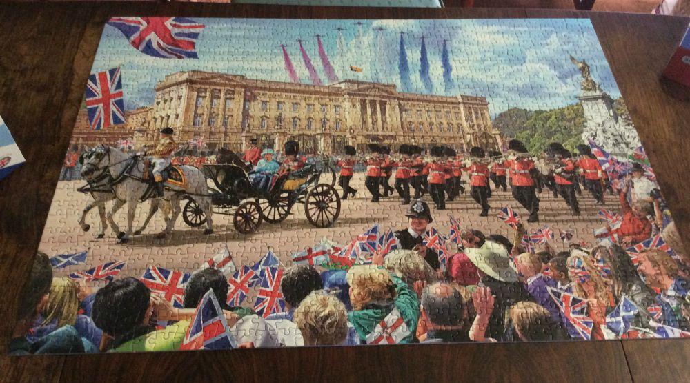 Palace Jigsaw done