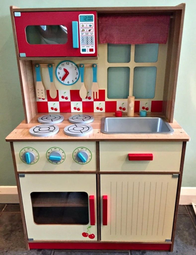 Asda wooden kitchen review whatwoodyouplay for Kitchen set wooden