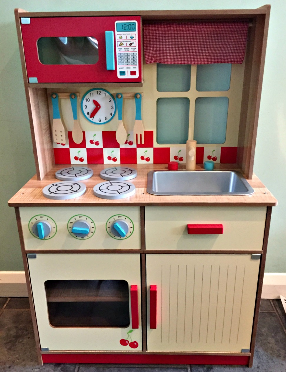 #WhatWoodYouPlay Asda Wooden Kitchen Review