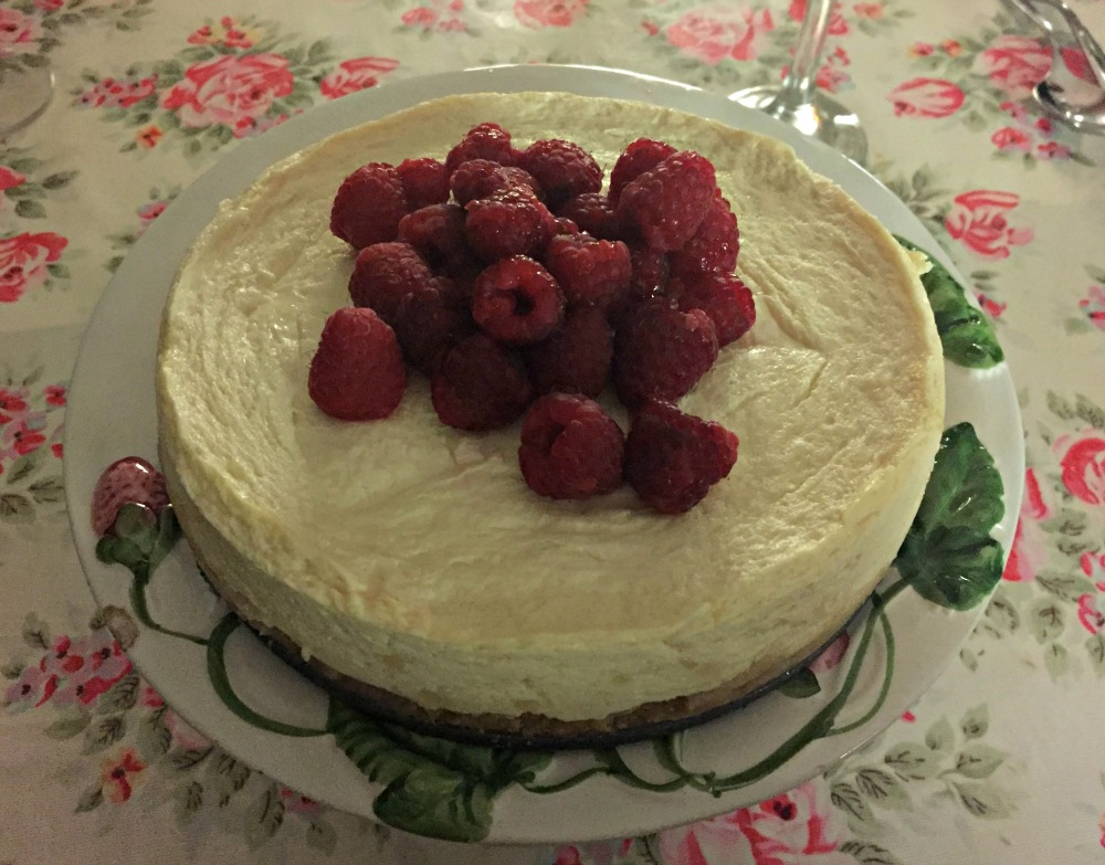 Pressure Cooker Baked Cheesecake