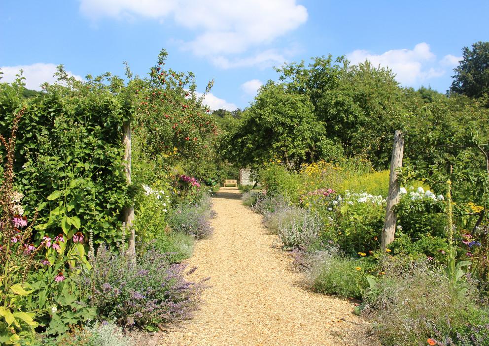 A walk through the walled garden at Chawton House Library
