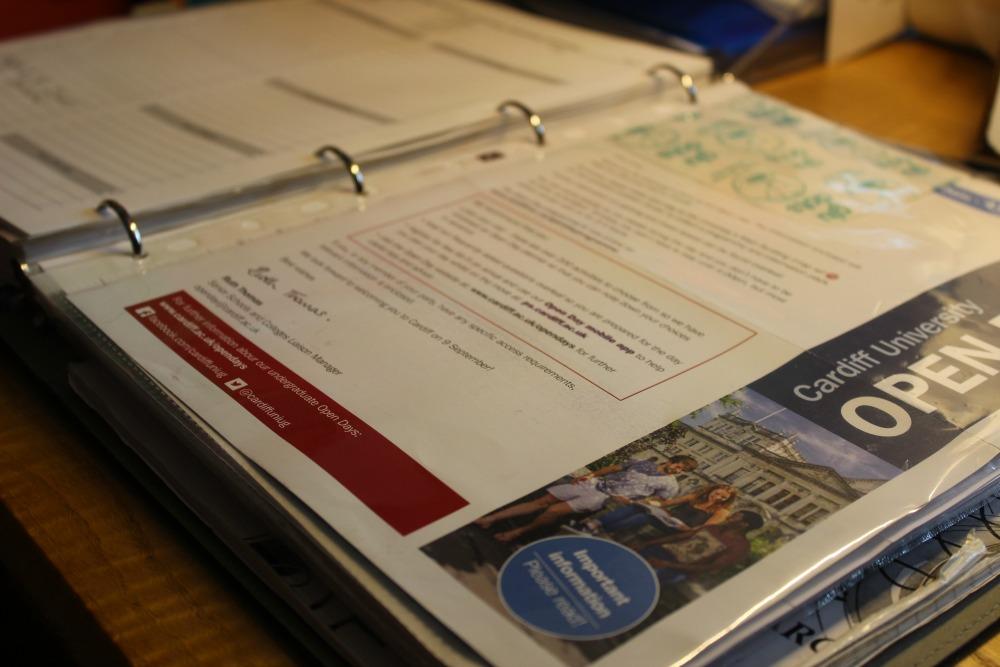 Back to school organising