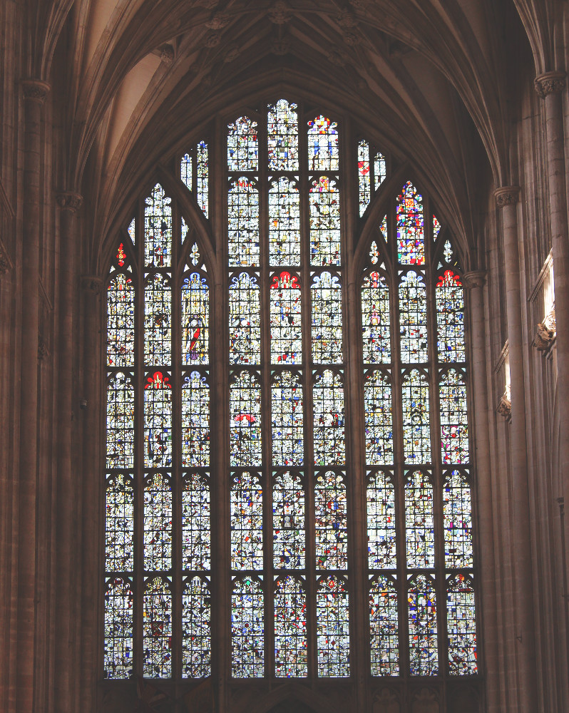 Winchester Cathedral Window Wednesday