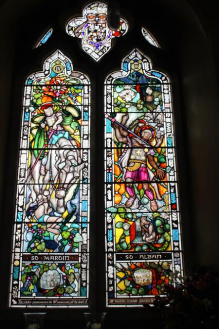 Window Wednesday, Bladon, Winston Churchill, Oxfordshire