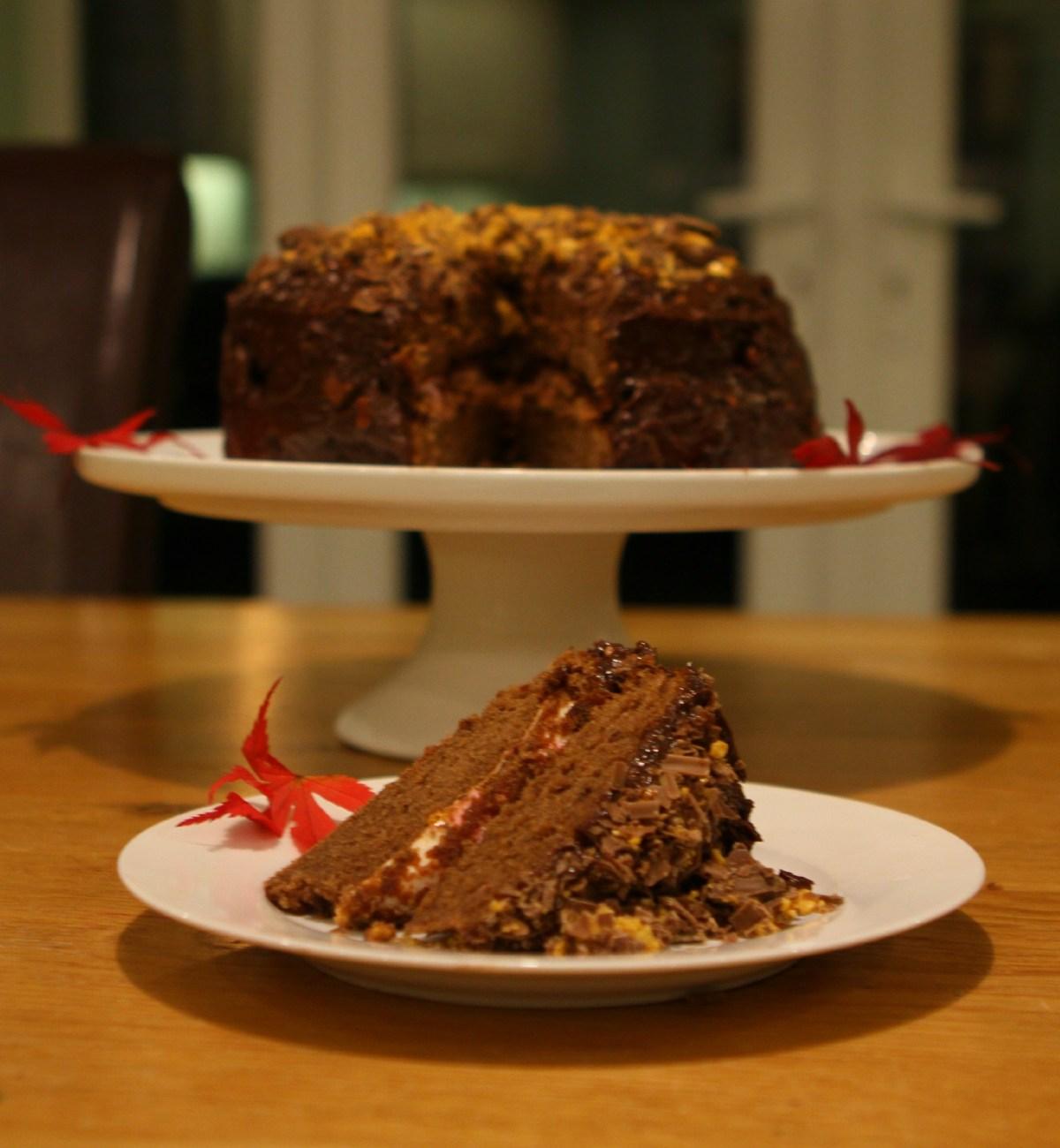 bonfiresmorescake&slice
