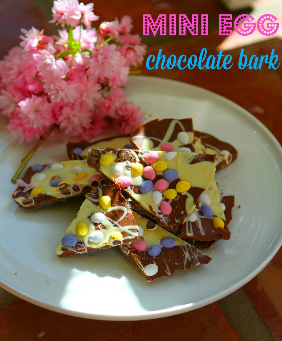 Mini Egg Chocolate Bark