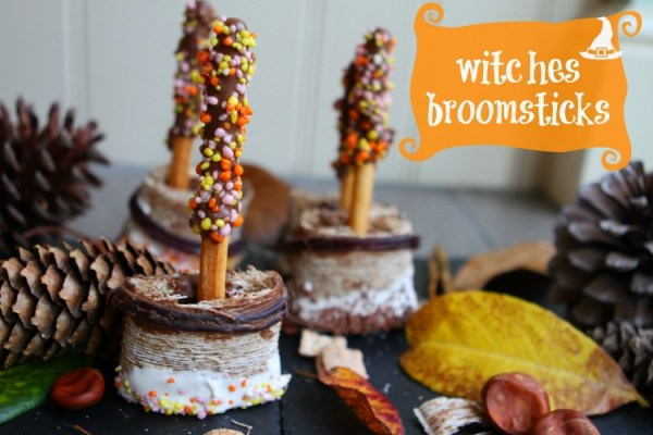 Edible Witches Broomsticks