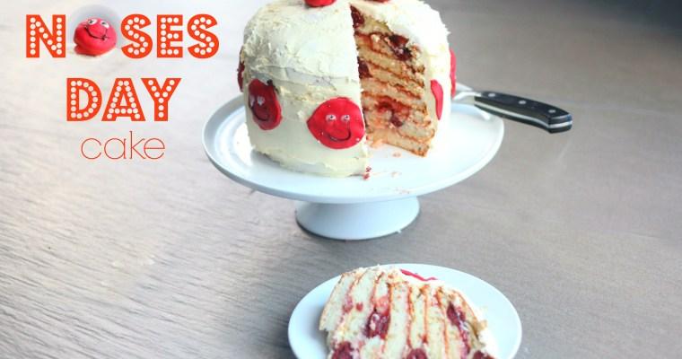 Red Noses Day Cake #raisesomedough