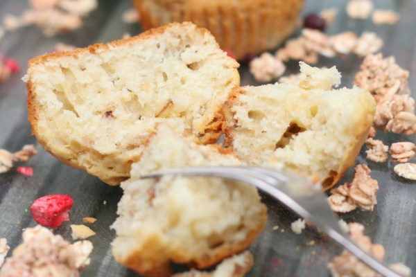 Apple & Granola Muffins (Dairy Free)