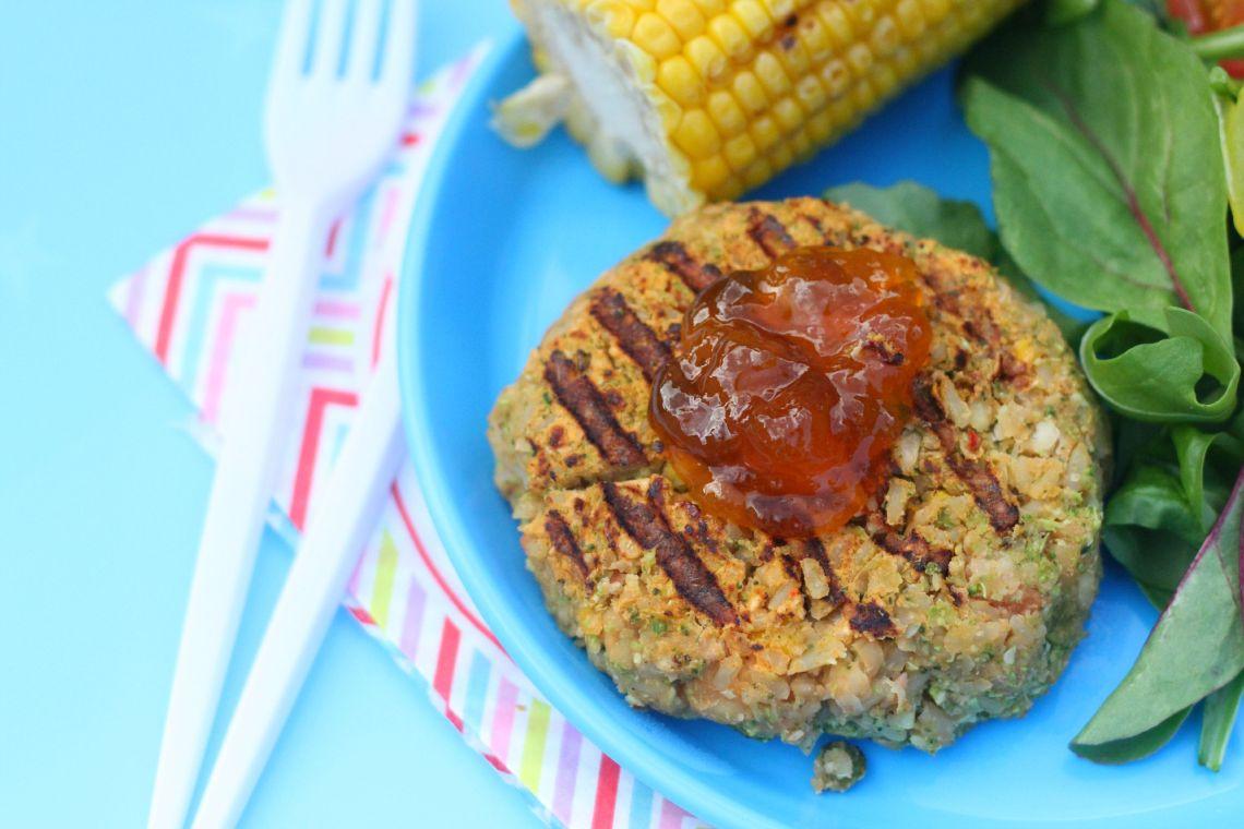 curr veg burger not badge